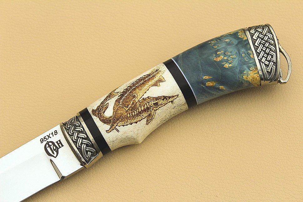 95х18 или 65х13 какая сталь лучше для ножа сертификат на нож spyderco